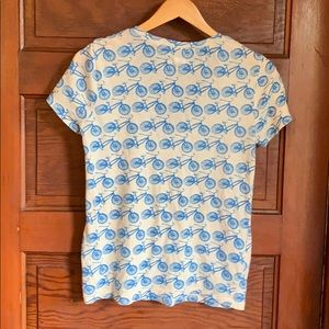 BDG Tops - BDG Bicycle print T shirt size medium